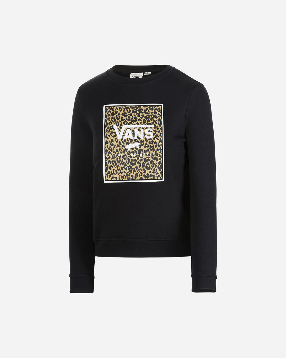 Felpa VANS LEOPARD JR S5246255 scatto 0