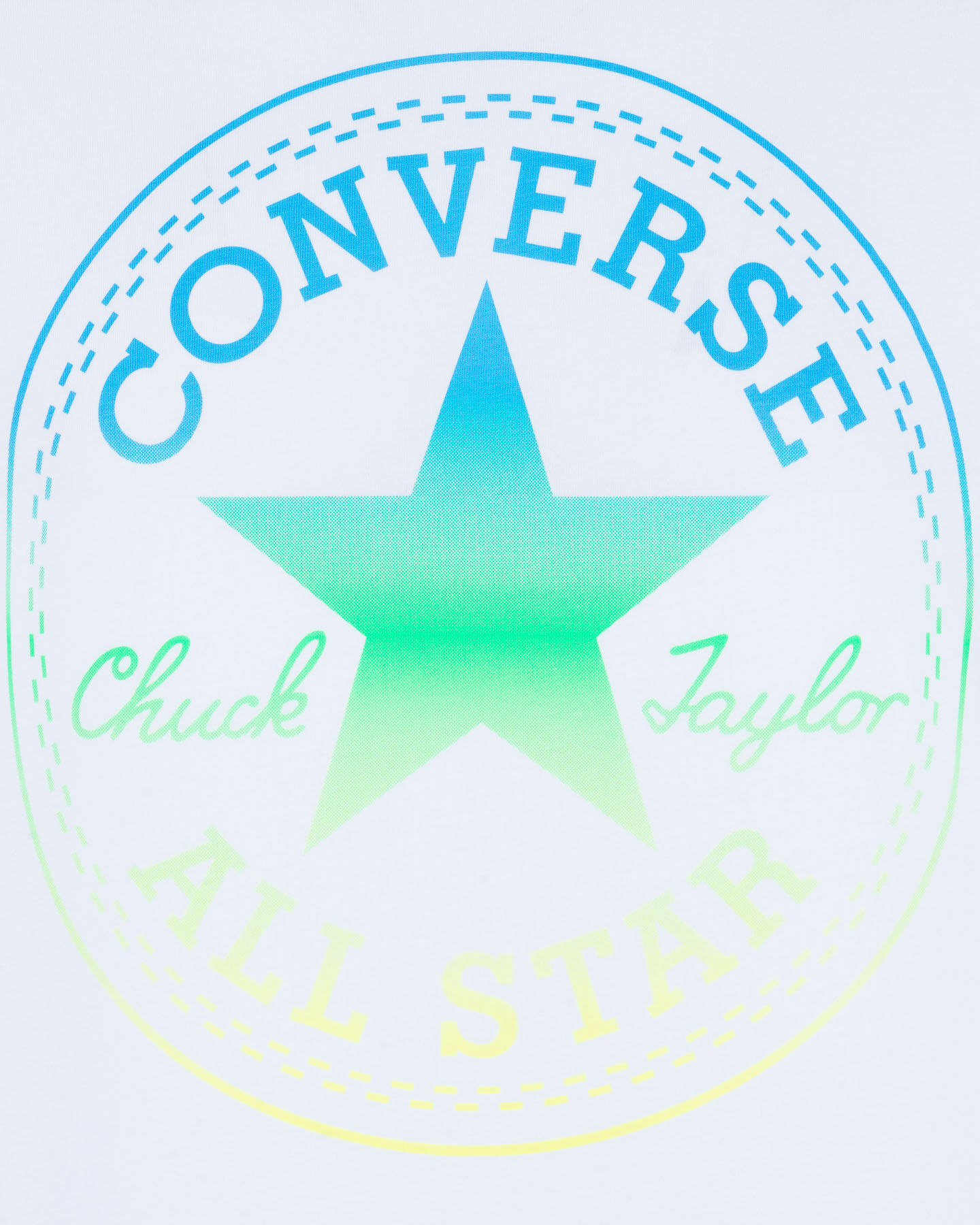 T-Shirt CONVERSE ALL STAR CHUCH TAYLOR LOGO M S5181091 scatto 2