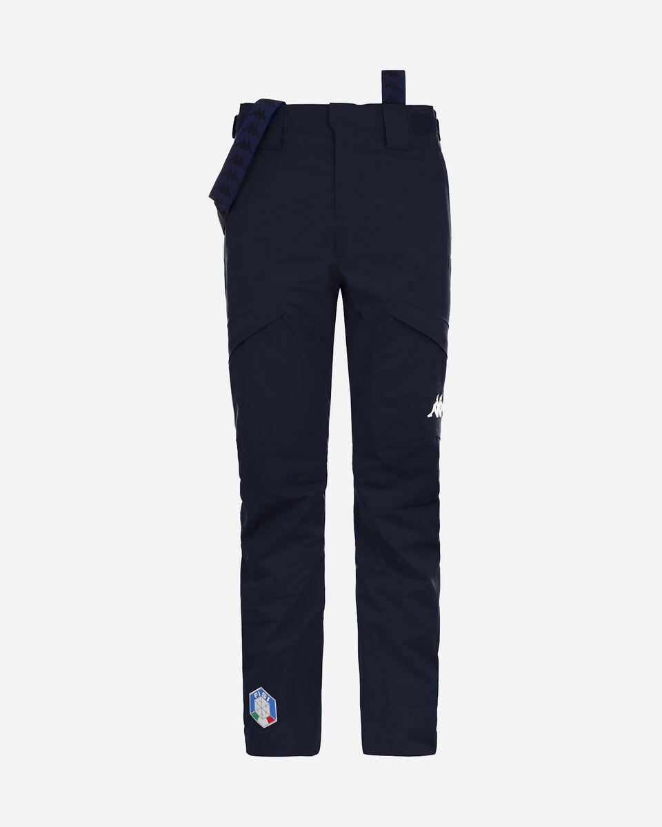 Pantalone sci KAPPA 6CENTO 622 FZ FISI M S4083771 scatto 0