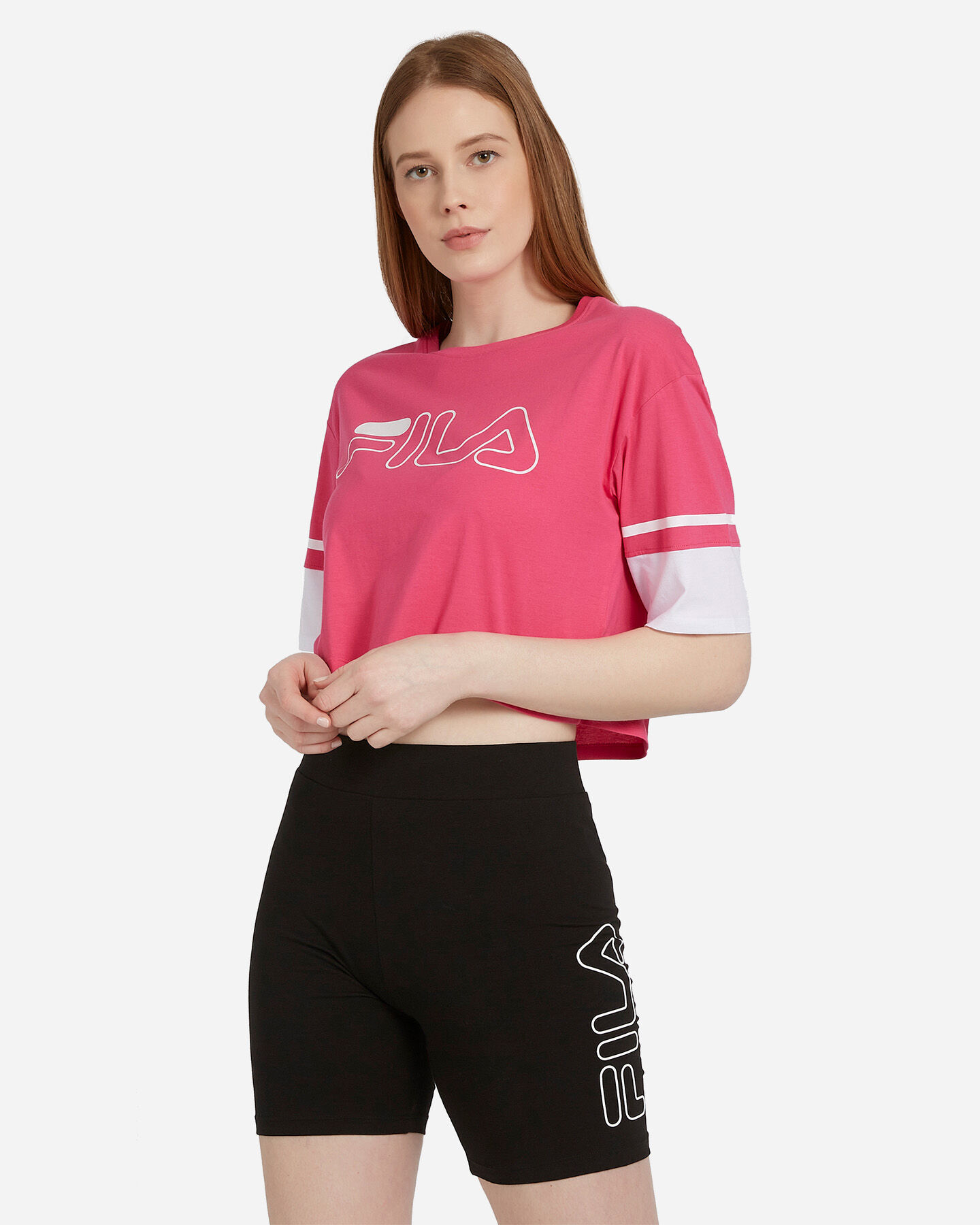 T-Shirt FILA LOGO W S4074228 scatto 0