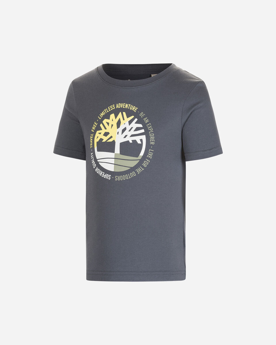 T-Shirt TIMBERLAND PLOGO TREE JR S4088883 scatto 0