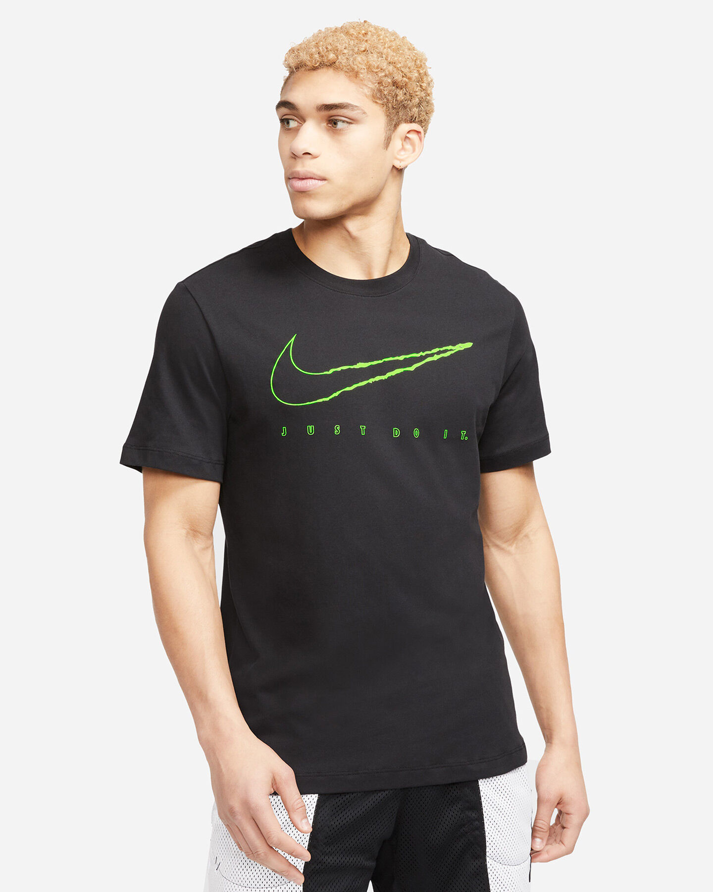 T-Shirt training NIKE DRI-FIT M S5196422 scatto 0