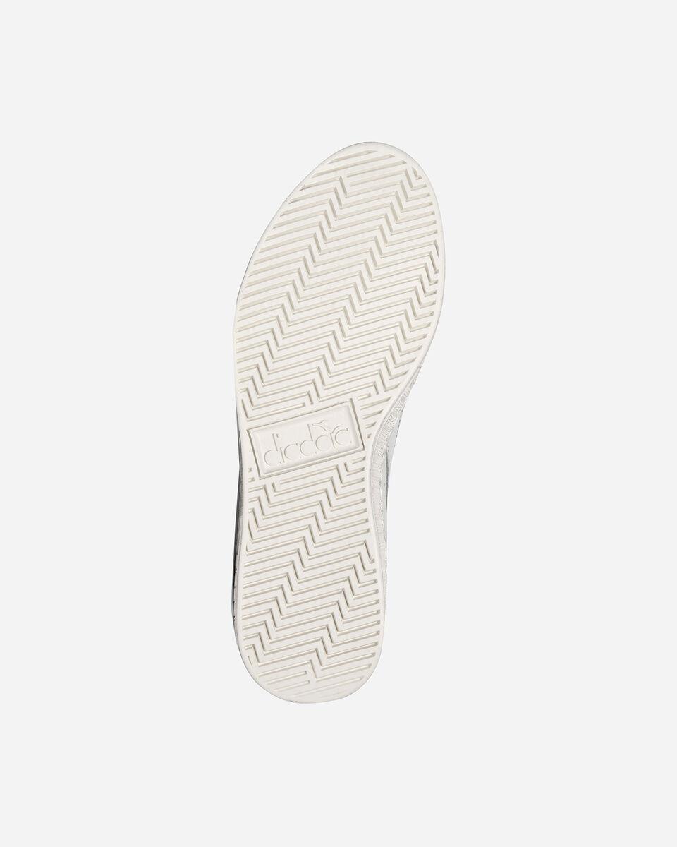 Scarpe sneakers DIADORA GAME L LOW WAXED W S5171105 scatto 2