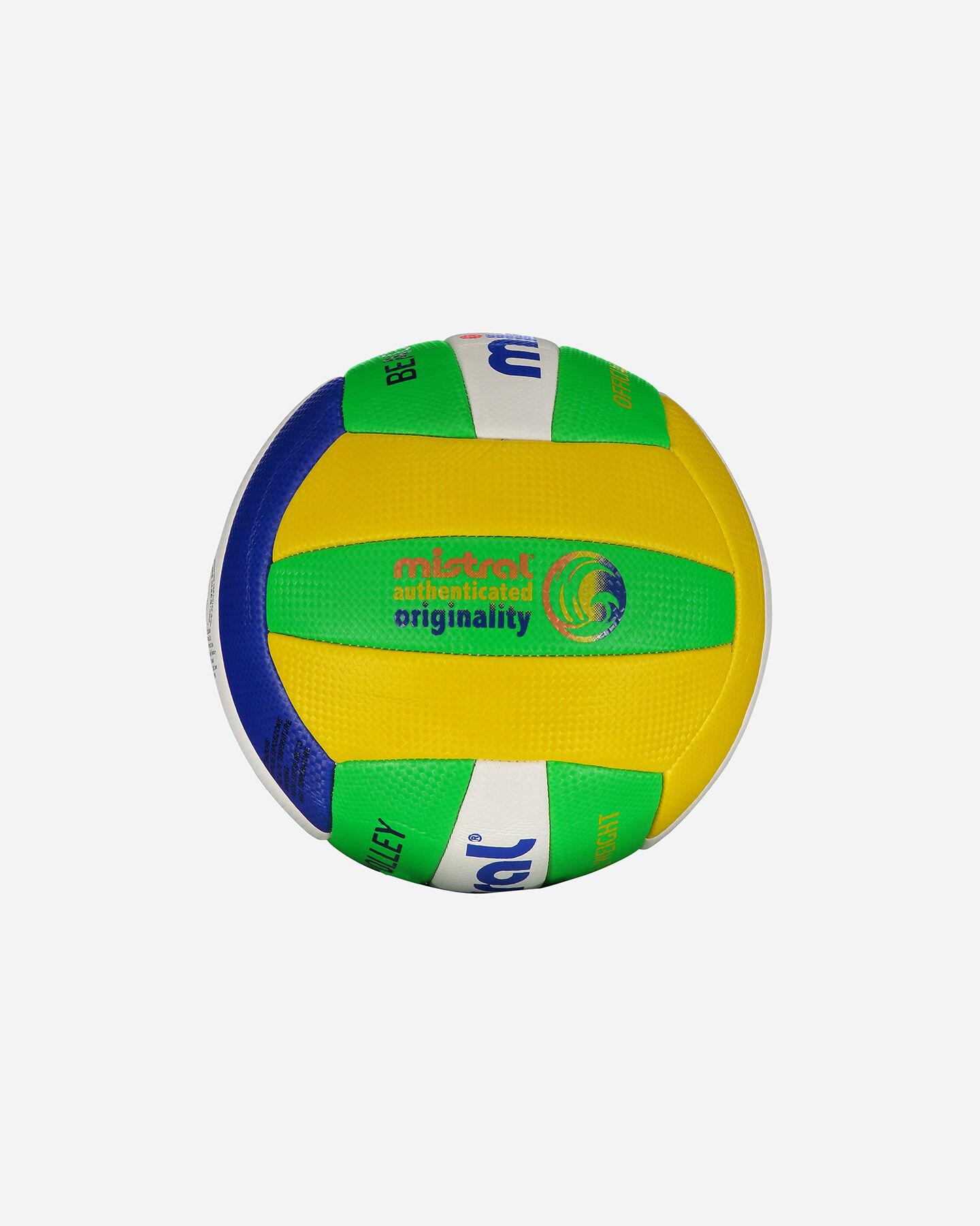 Pallone volley MISTRAL BEACH VOLLEY BRASILE MIS.4 S4037255 1 UNI scatto 1