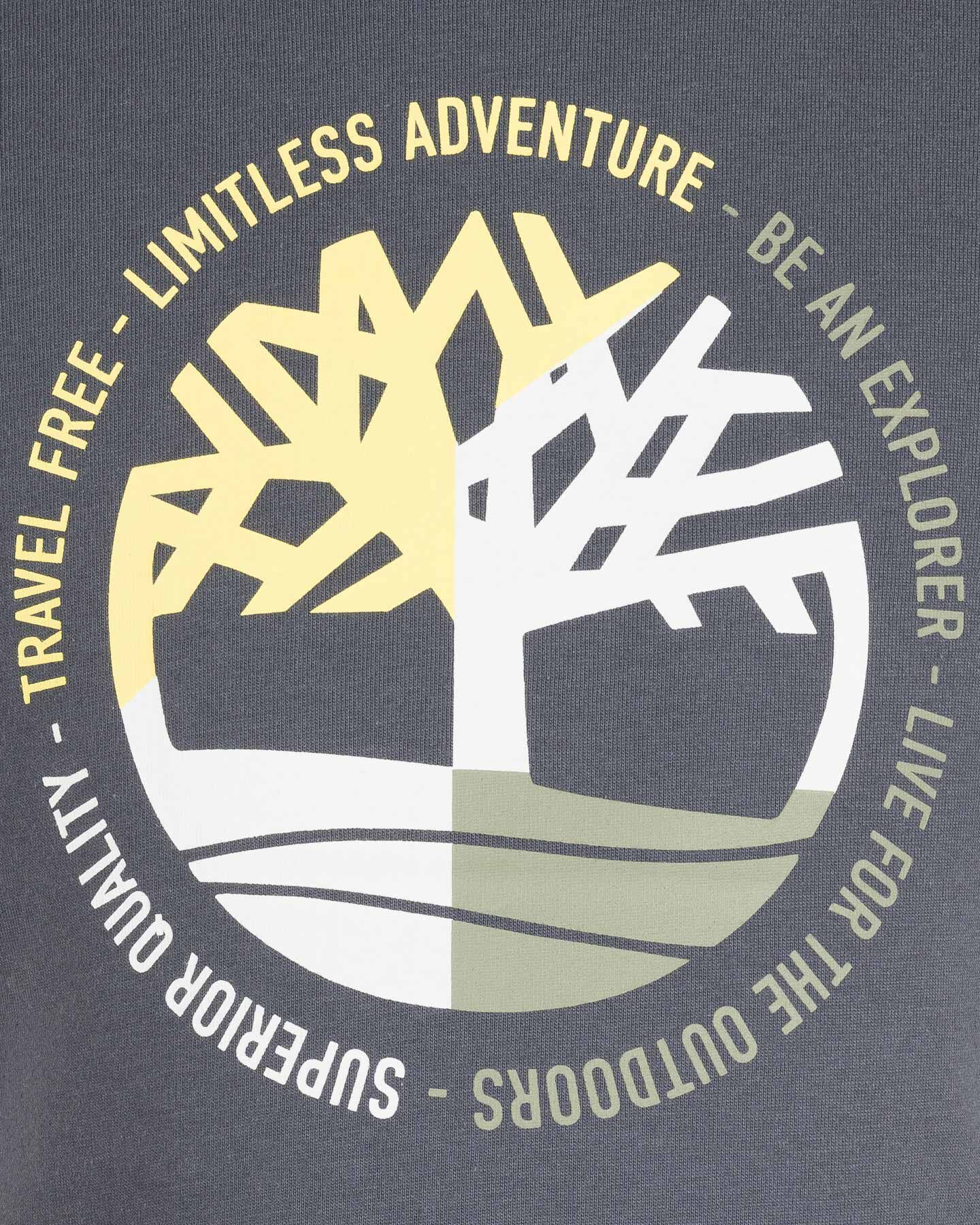 T-Shirt TIMBERLAND PLOGO TREE JR S4088883 scatto 2