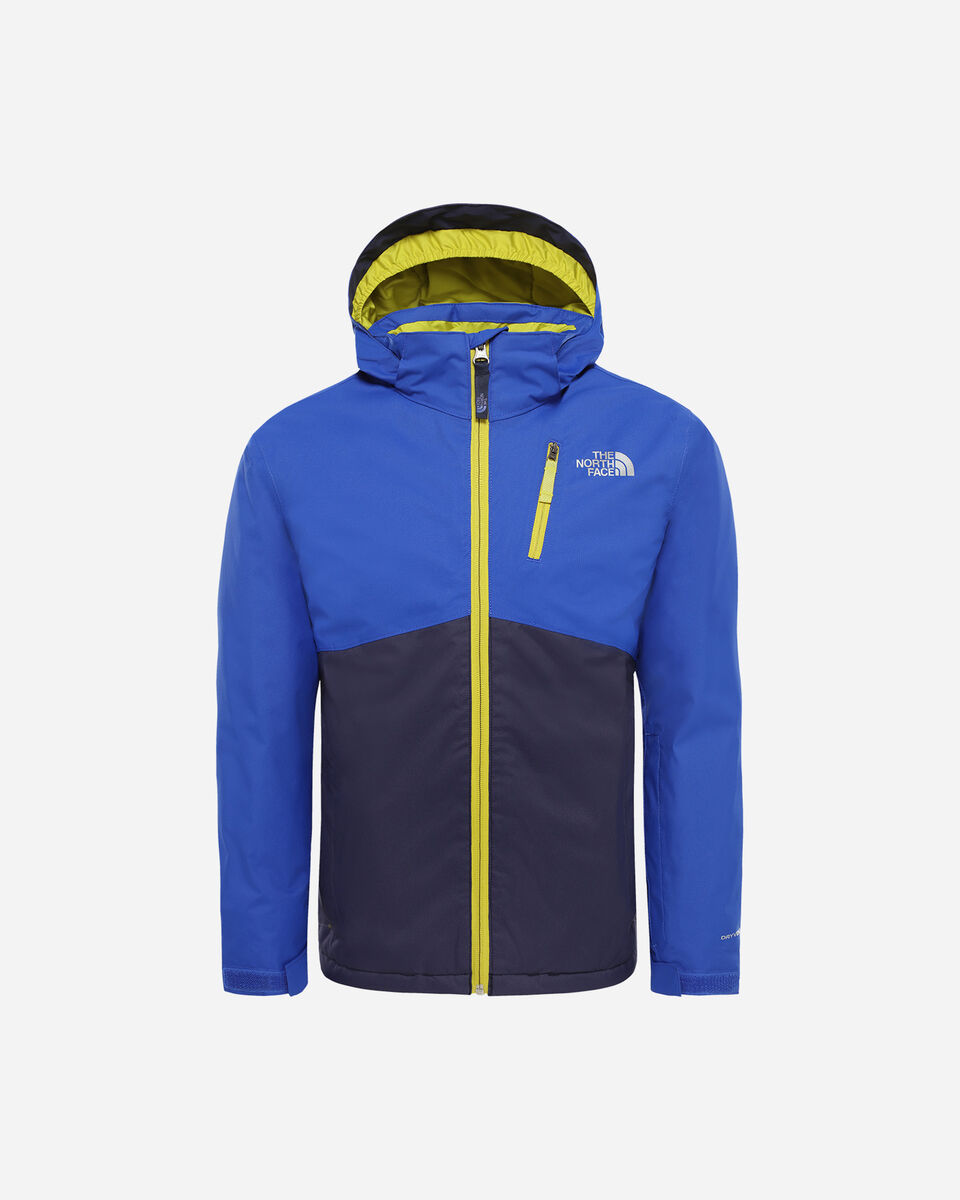 Giacca sci THE NORTH FACE SNOW QUEST PLUS JR S5123526 scatto 0