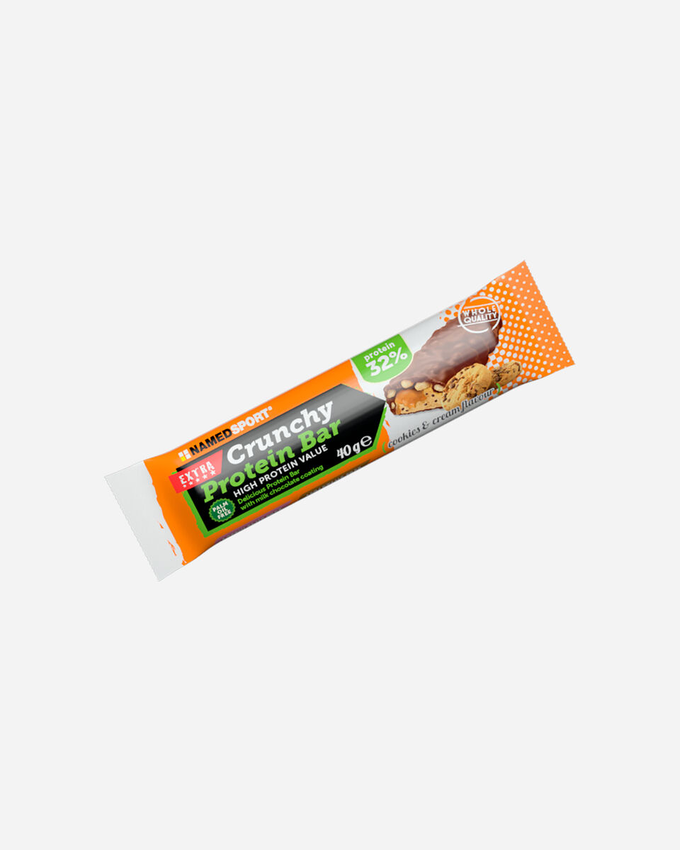Energetico NAMED SPORT CRUNCHY COOKIES&CREAM 40G S1308850|1|UNI scatto 0