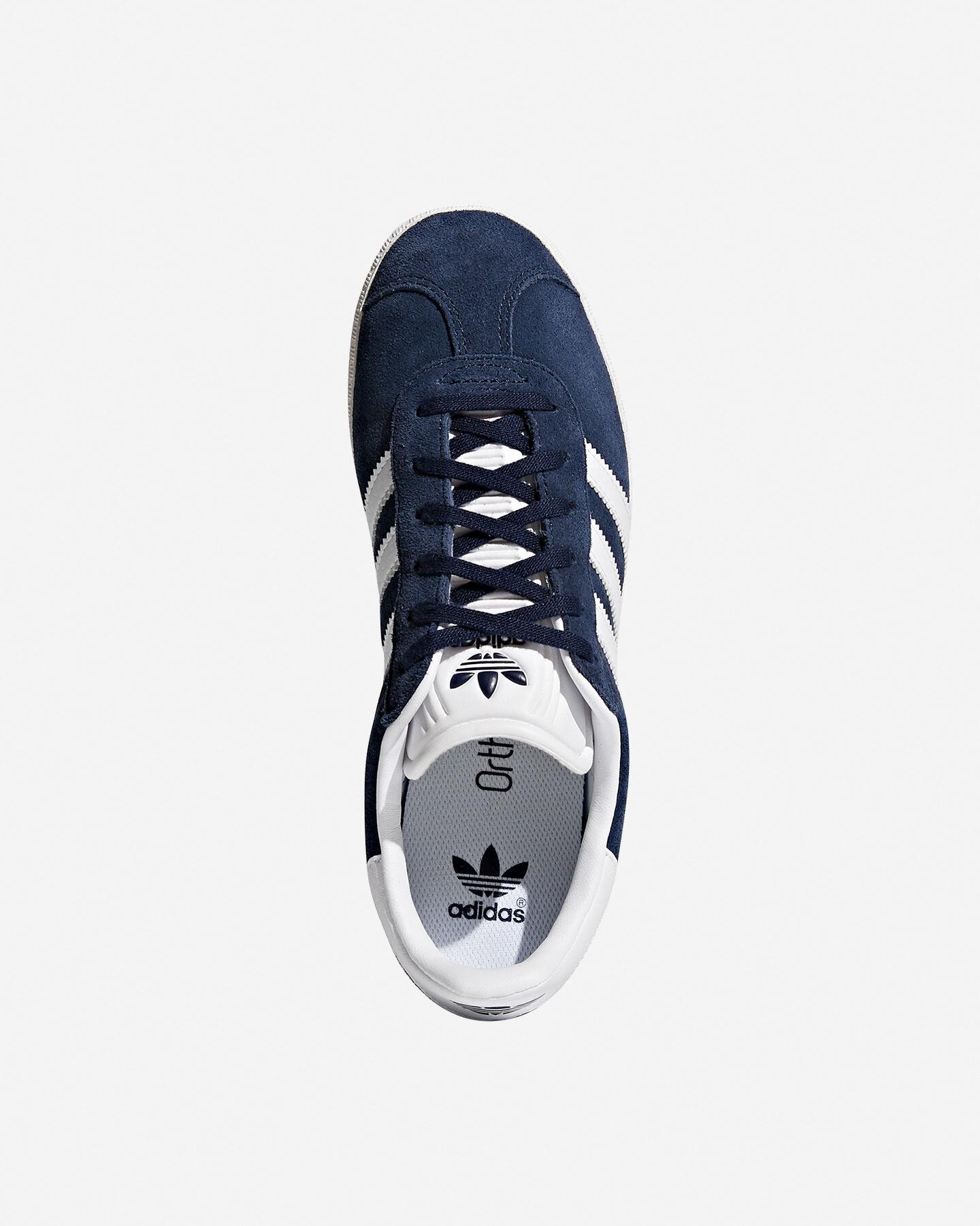 Scarpe sneakers ADIDAS GAZELLE JR GS S4046770|CONAVY/FTW|3 scatto 2