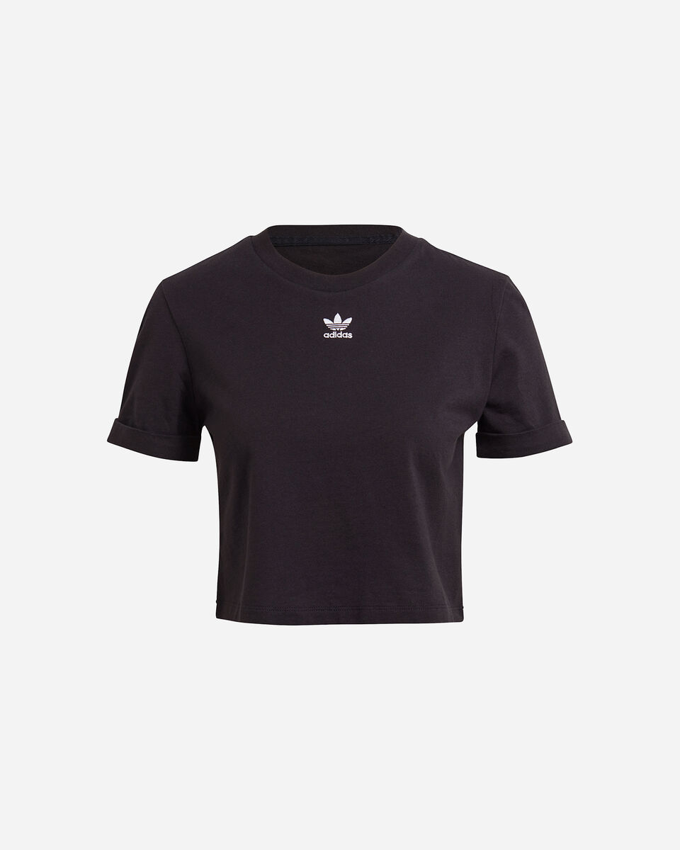 T-Shirt ADIDAS CROP TOP W S5276691 scatto 0