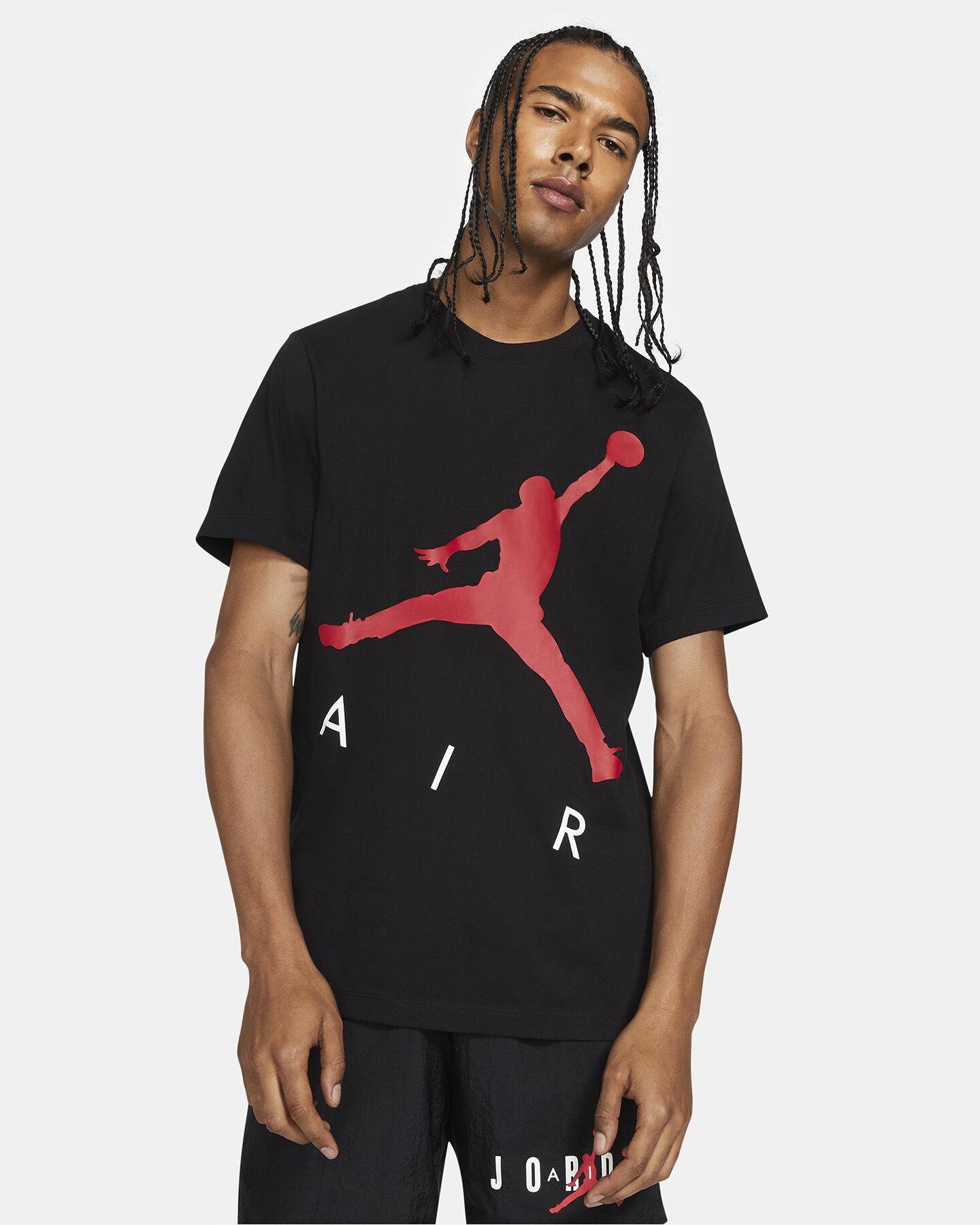 T-Shirt NIKE JORDAN JUMP AIR HBR4 M S5270867 scatto 2
