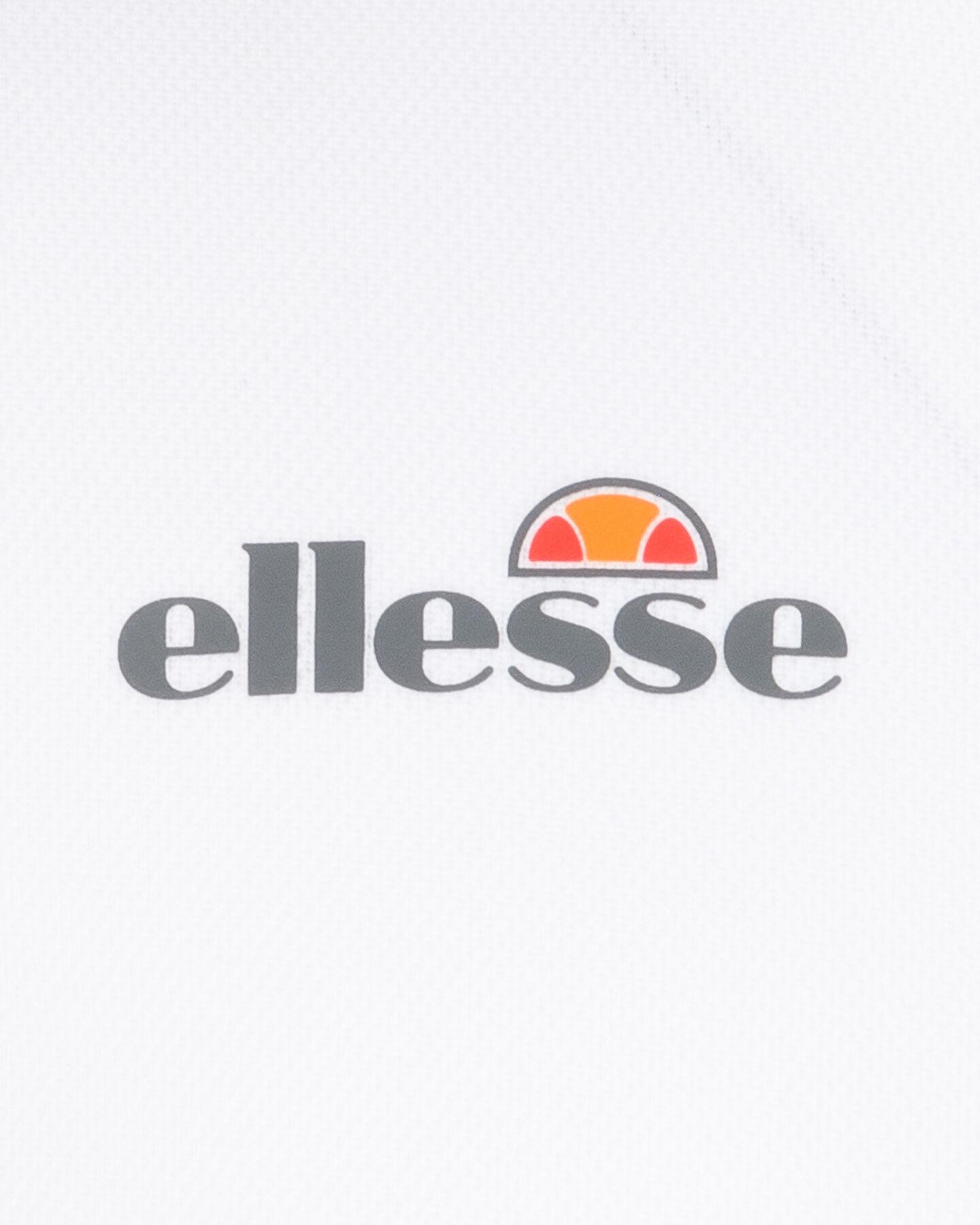 Maglia tennis ELLESSE FULLWHITE JR S4047429 scatto 2