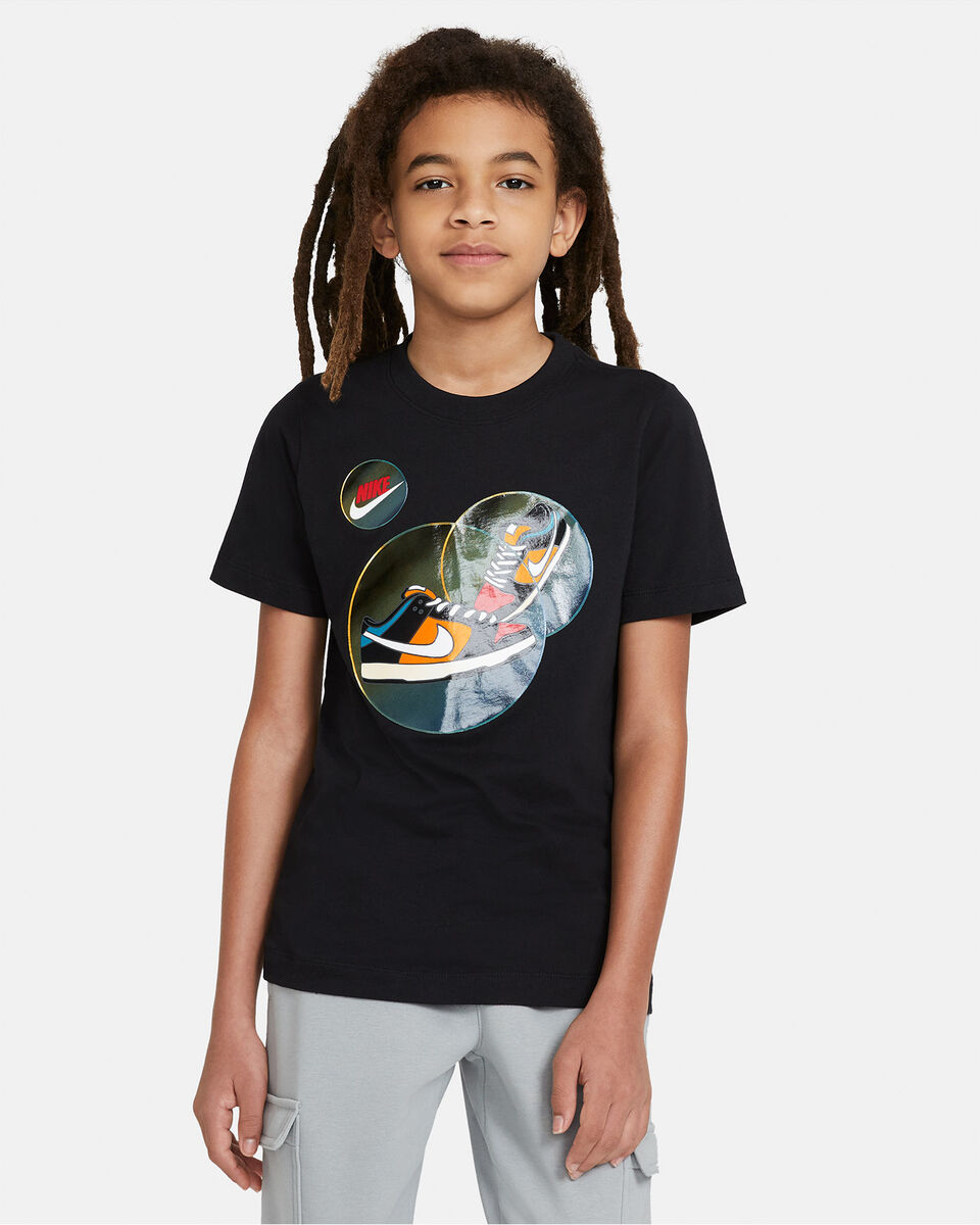 T-Shirt NIKE BUBBLE JR S5270250 scatto 0