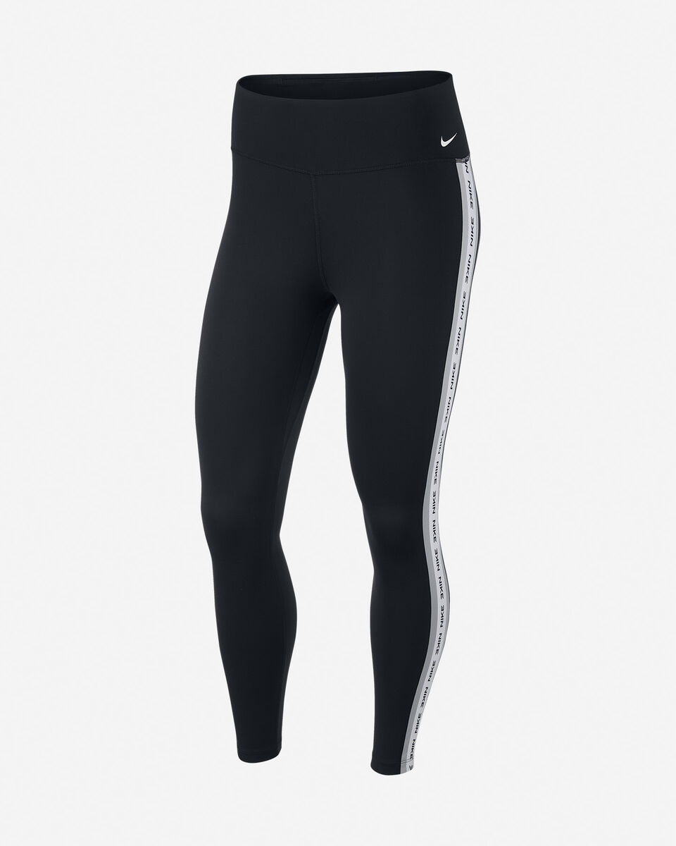 Leggings NIKE ONE 7/8 TAPE W S5172994 scatto 0