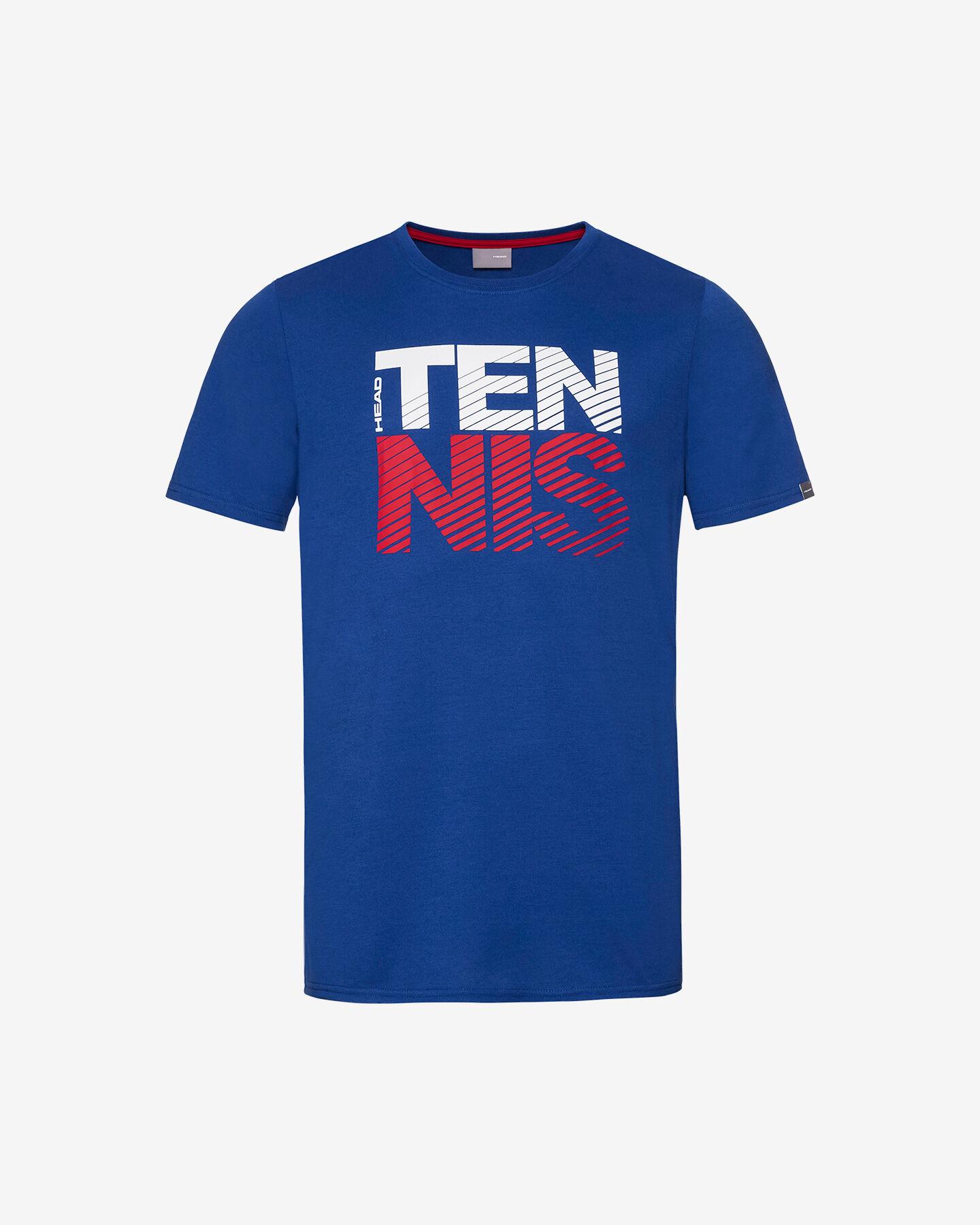 T-Shirt tennis HEAD CLUB CHRIS M S5304505 scatto 0