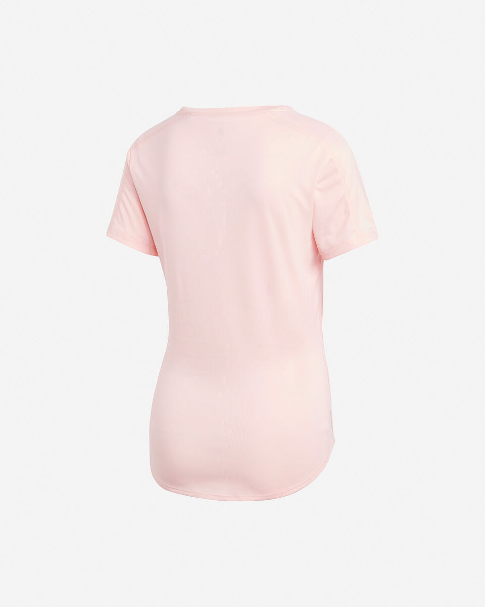 T-Shirt running ADIDAS RUN IT 3 STRIPES W S5210001 scatto 1