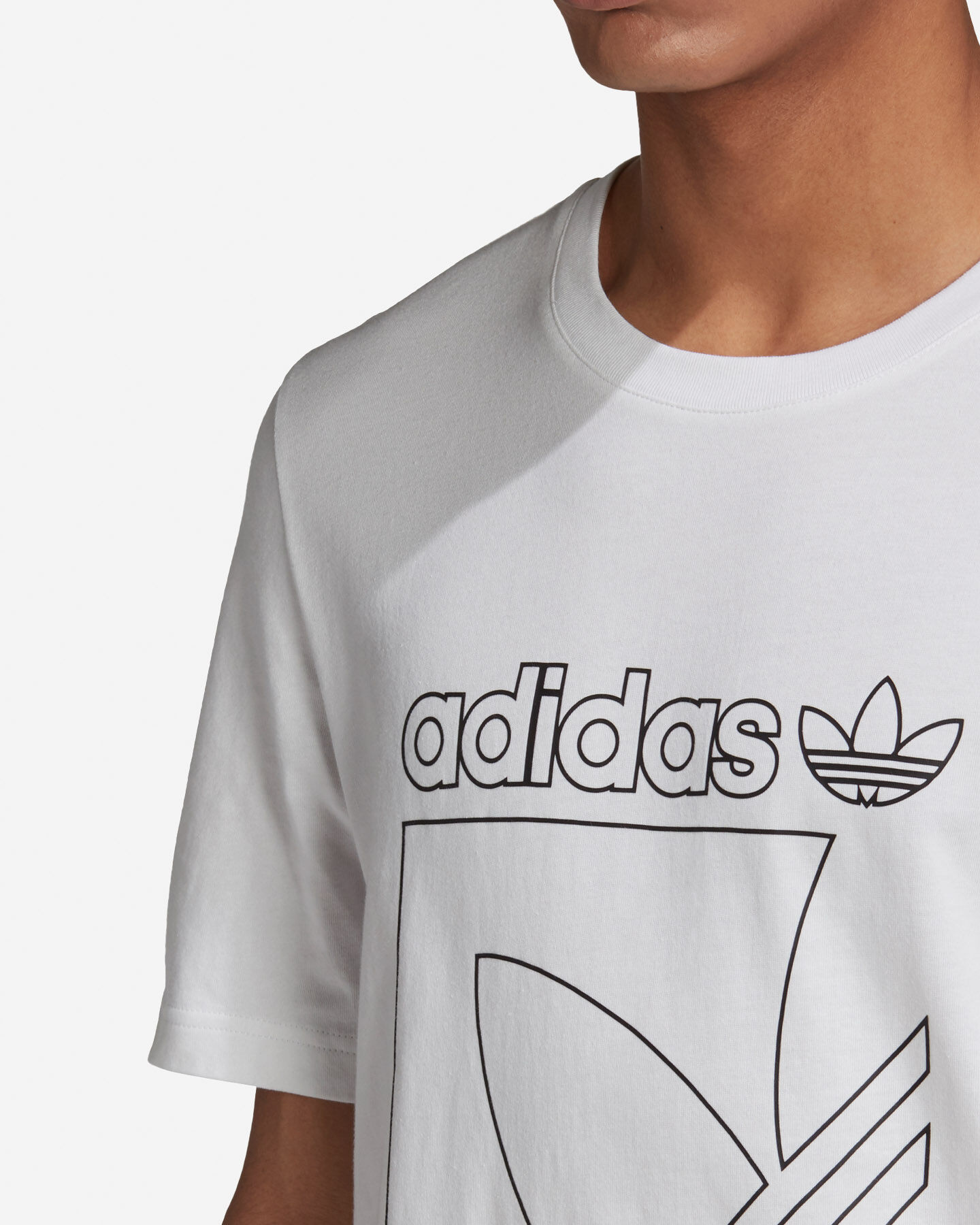 T-Shirt ADIDAS OUTLINE M S5210669 scatto 5