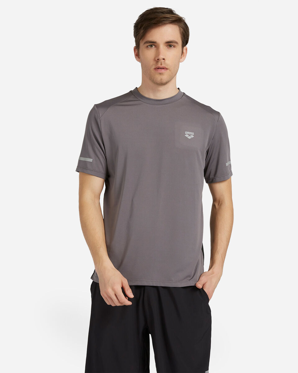 T-Shirt training ARENA ROYAL BACK MESH M S4088059 scatto 0