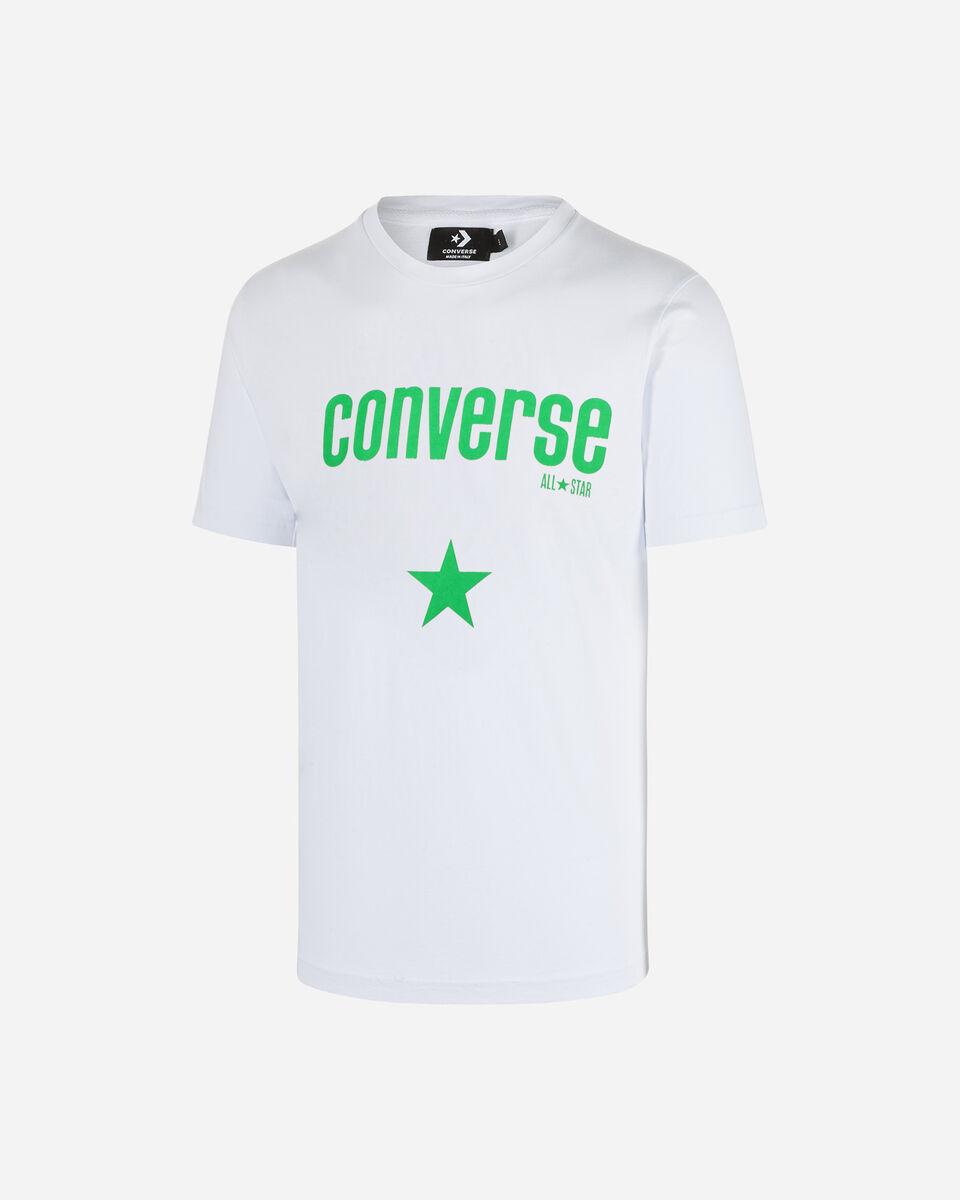 T-Shirt CONVERSE CORE LOGO M S5180965 scatto 0