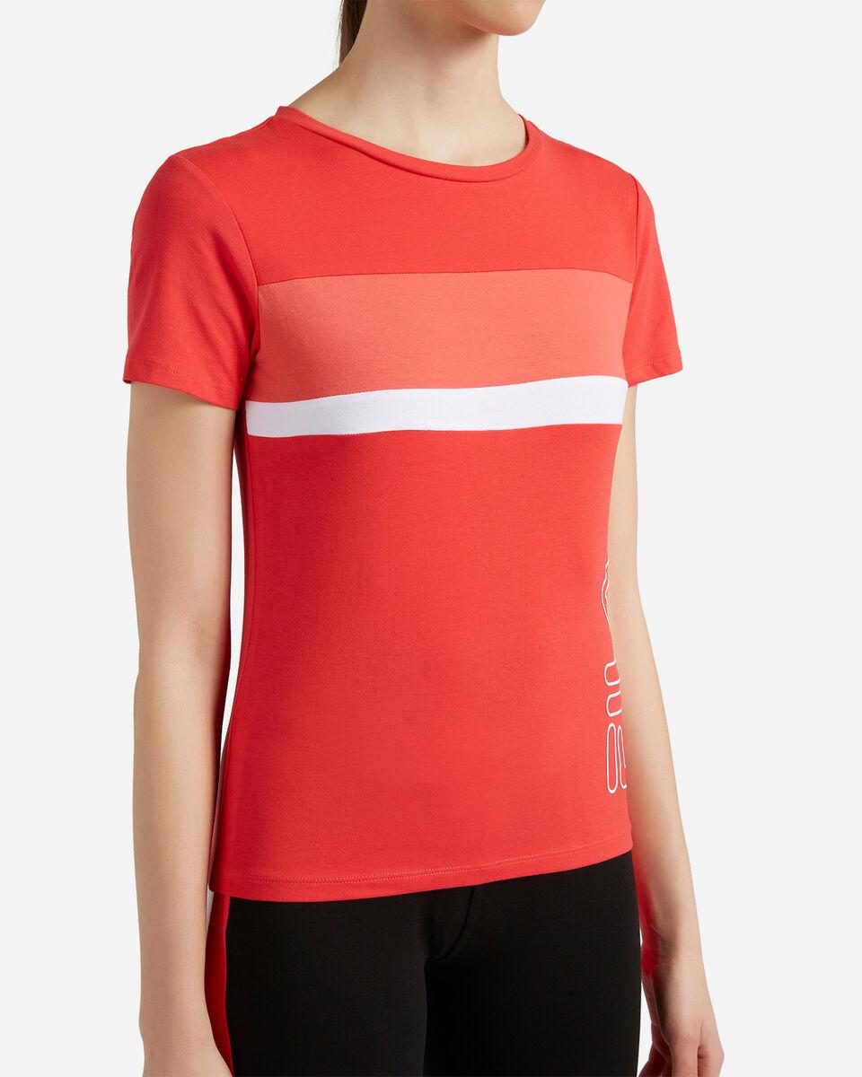 T-Shirt FILA REGULAR COLOR BLOCK W S4089715 scatto 4