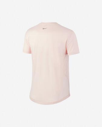 T-Shirt running NIKE MILER TOP W