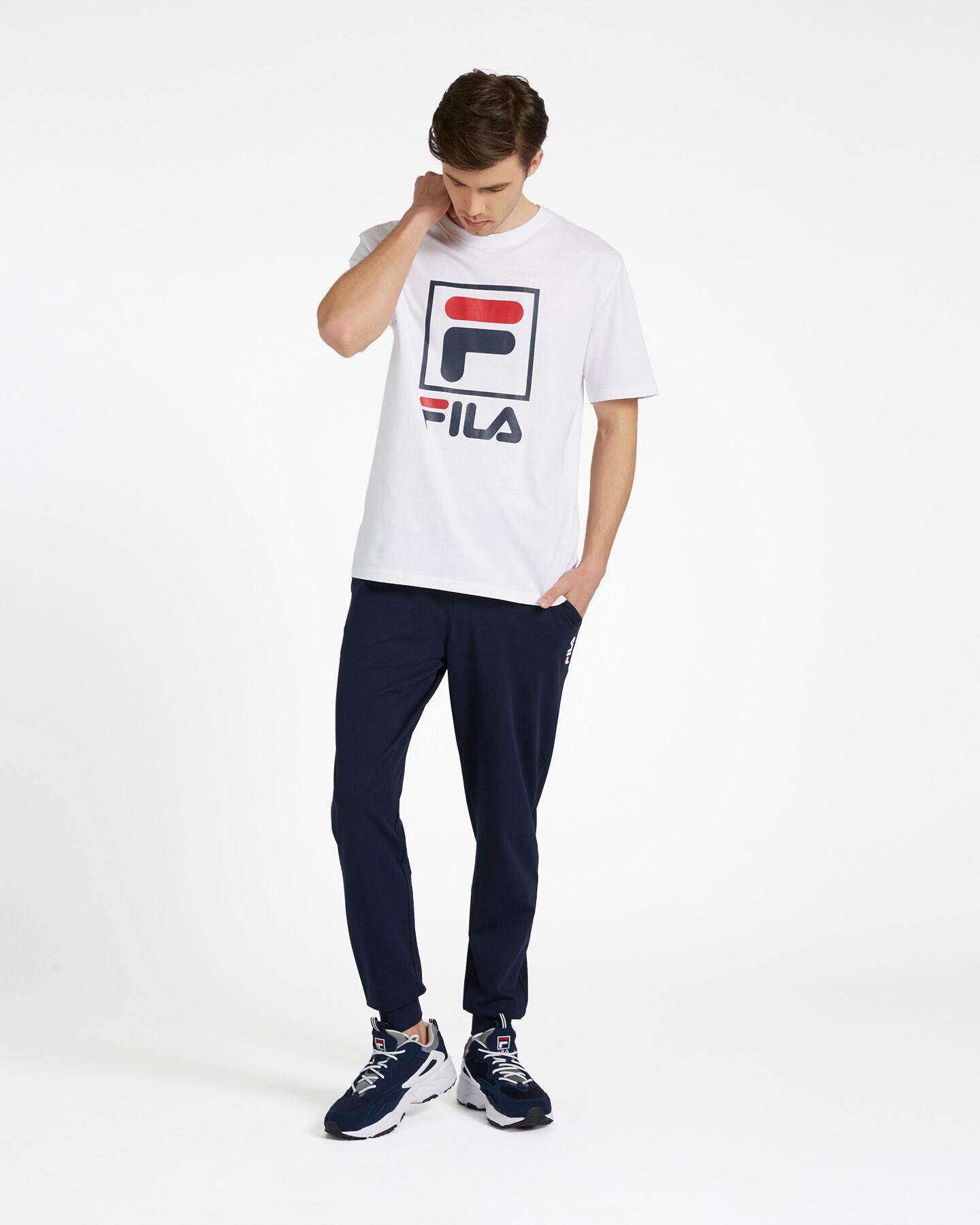 T-Shirt FILA LOGO VINTAGE M S4088402 scatto 1