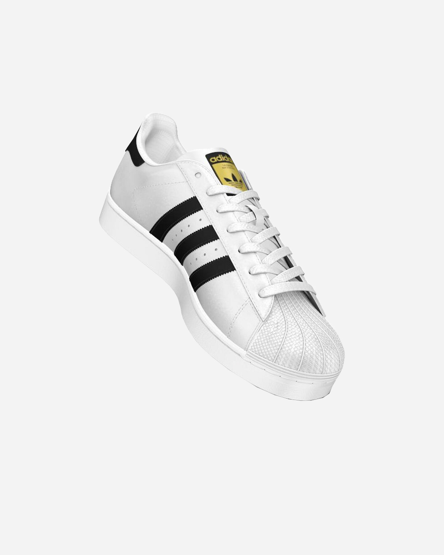 Scarpe sneakers ADIDAS SUPERSTAR S1291555 scatto 3
