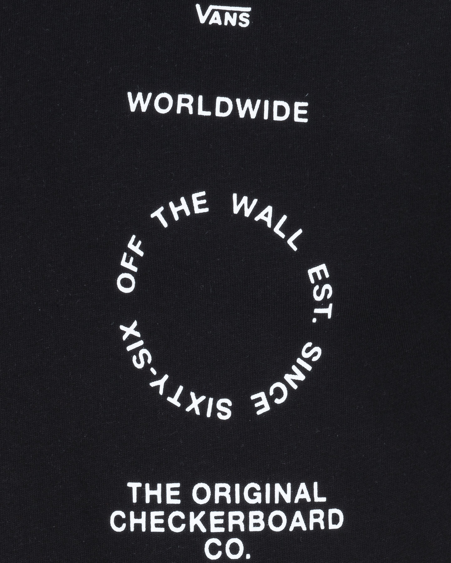 T-Shirt VANS DISTORTION TYPE M S5187189 scatto 2