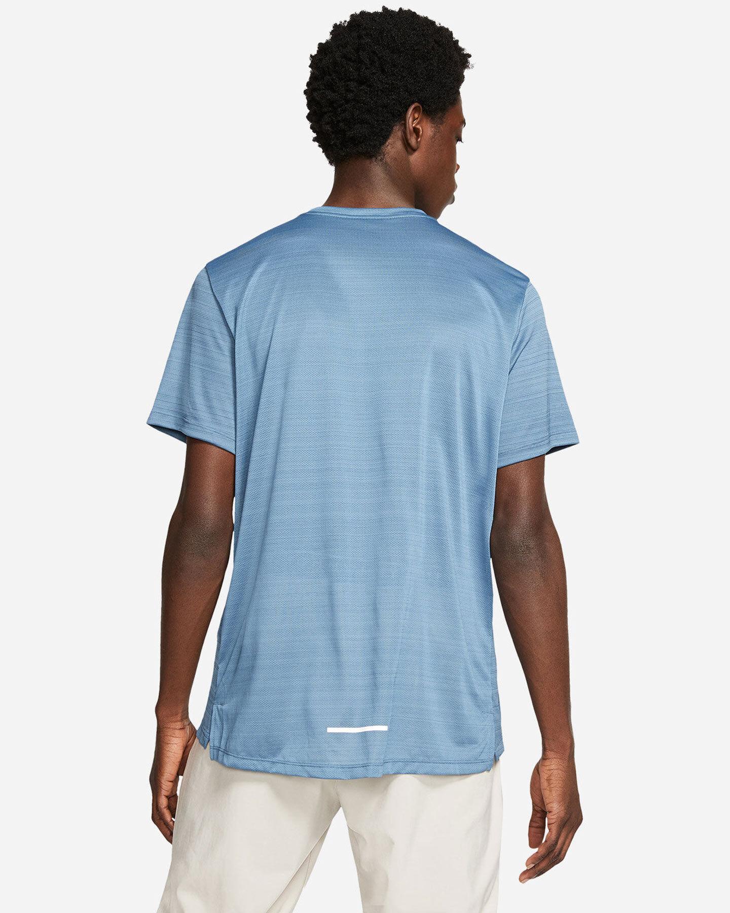 T-Shirt running NIKE DRI-FIT MILER M S5194863 scatto 1