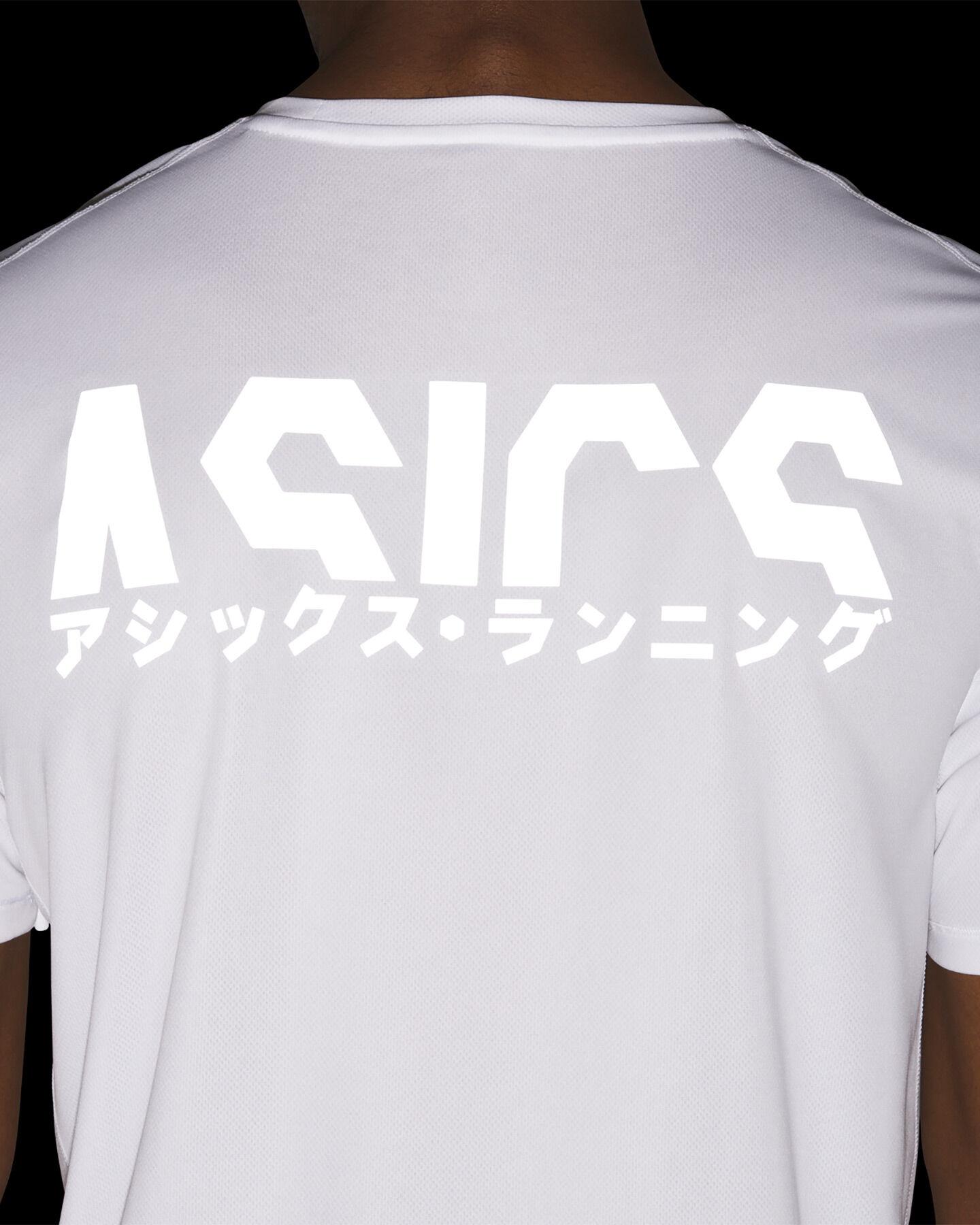 T-Shirt running ASICS KATAKANA M S5159544 scatto 5