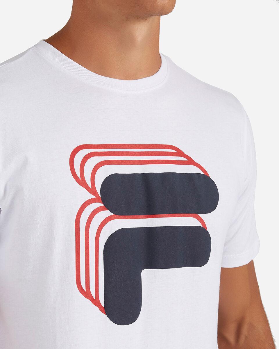T-Shirt FILA LOGO VINTAGE M S4081034 scatto 4