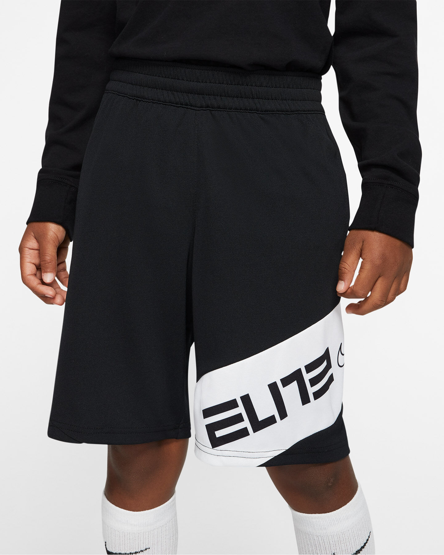 Pantaloncini NIKE ELITE JR S5164664 scatto 3