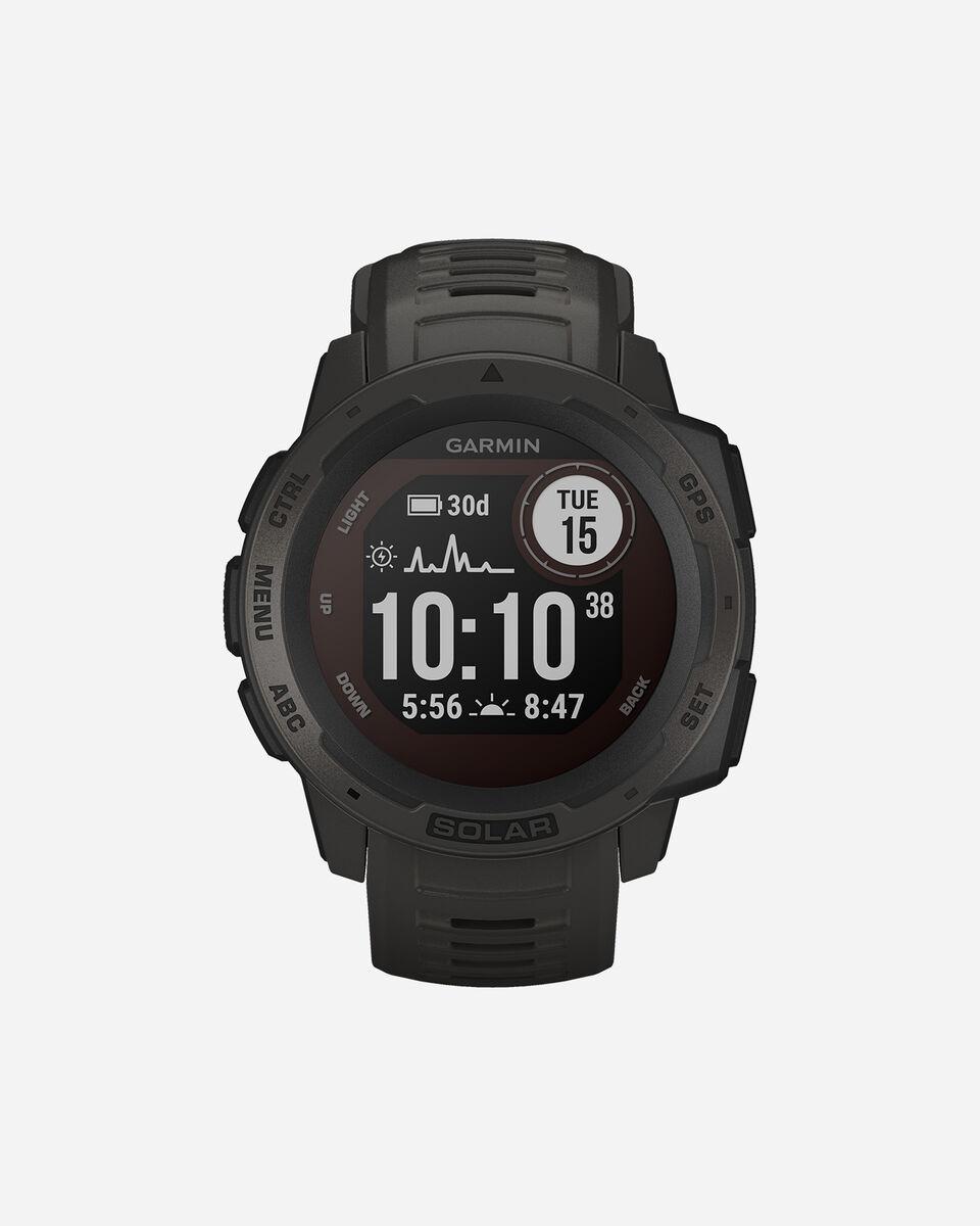 Orologio multifunzione GARMIN INSTINCT SOLAR S4086007 scatto 0