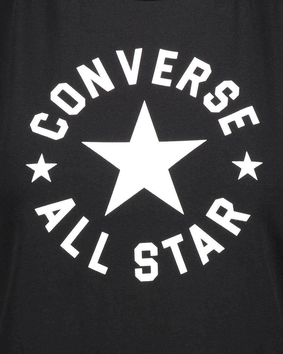 T-Shirt CONVERSE LOGO CLASSIC W S5181123 scatto 2