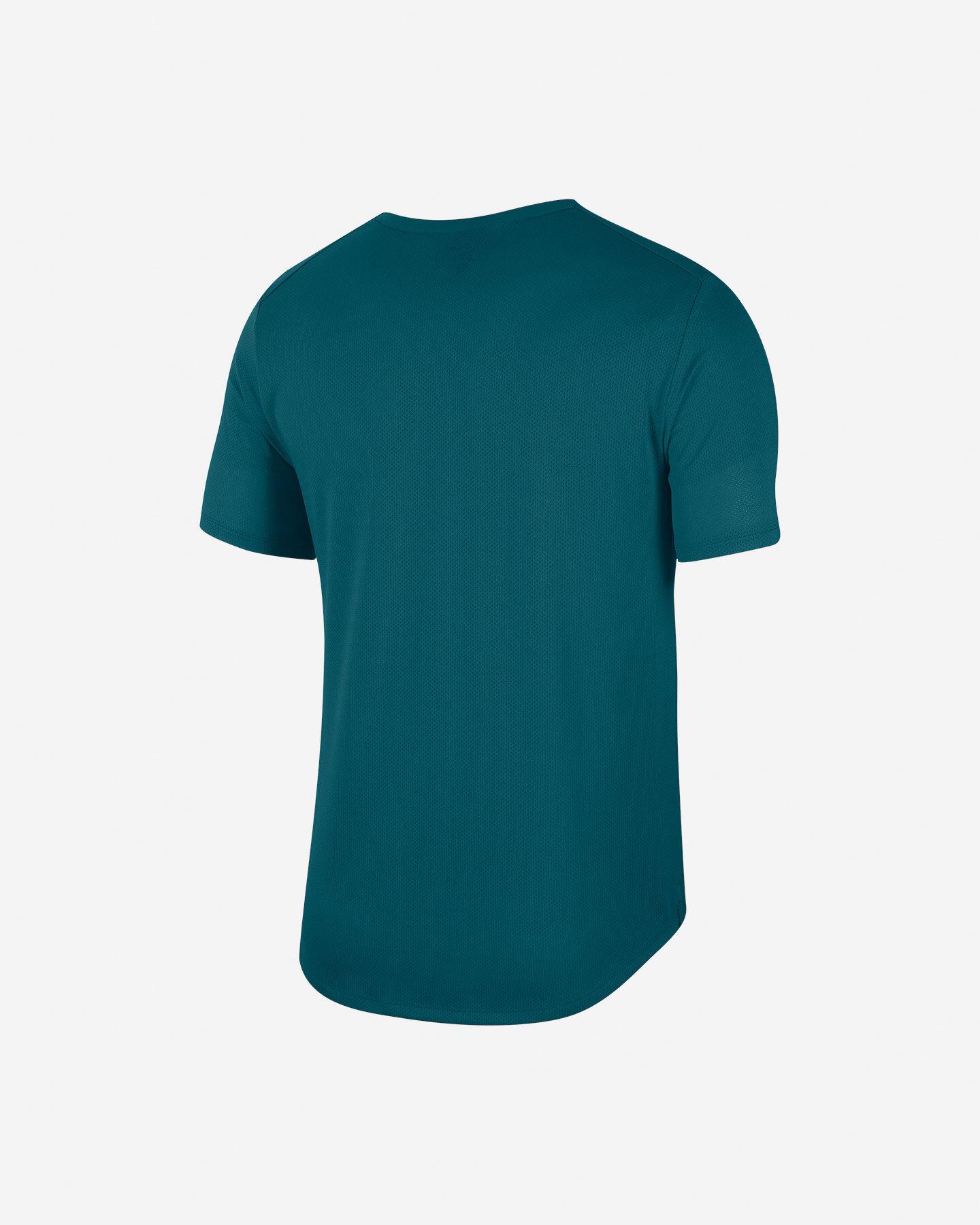 T-Shirt running NIKE MILER WILD RUN M S5225613 scatto 1
