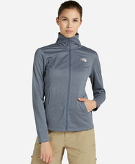 OUTDOOR donna THE NORTH FACE QUEST MIDLAYER W