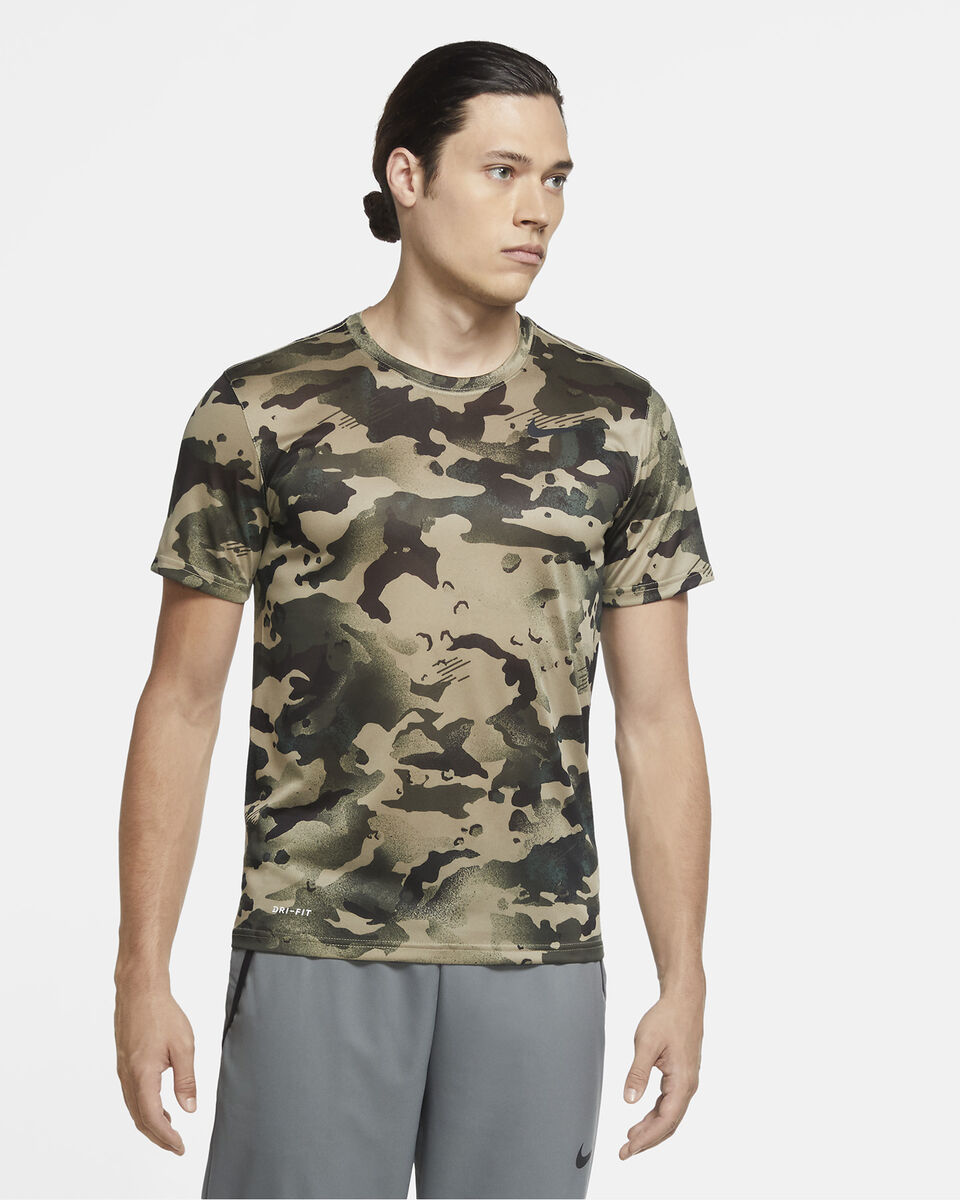 T-Shirt training NIKE DRY M S5225717 scatto 2