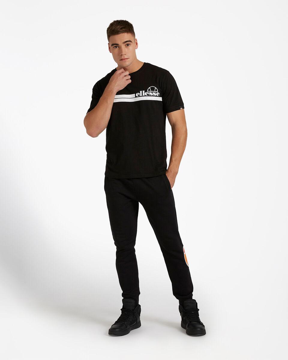 T-Shirt ELLESSE MC STRIPES M S4081221|050|XL scatto 1