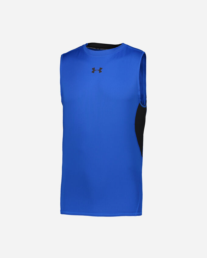 T-Shirt training UNDER ARMOUR POLY COMPR HG SL M