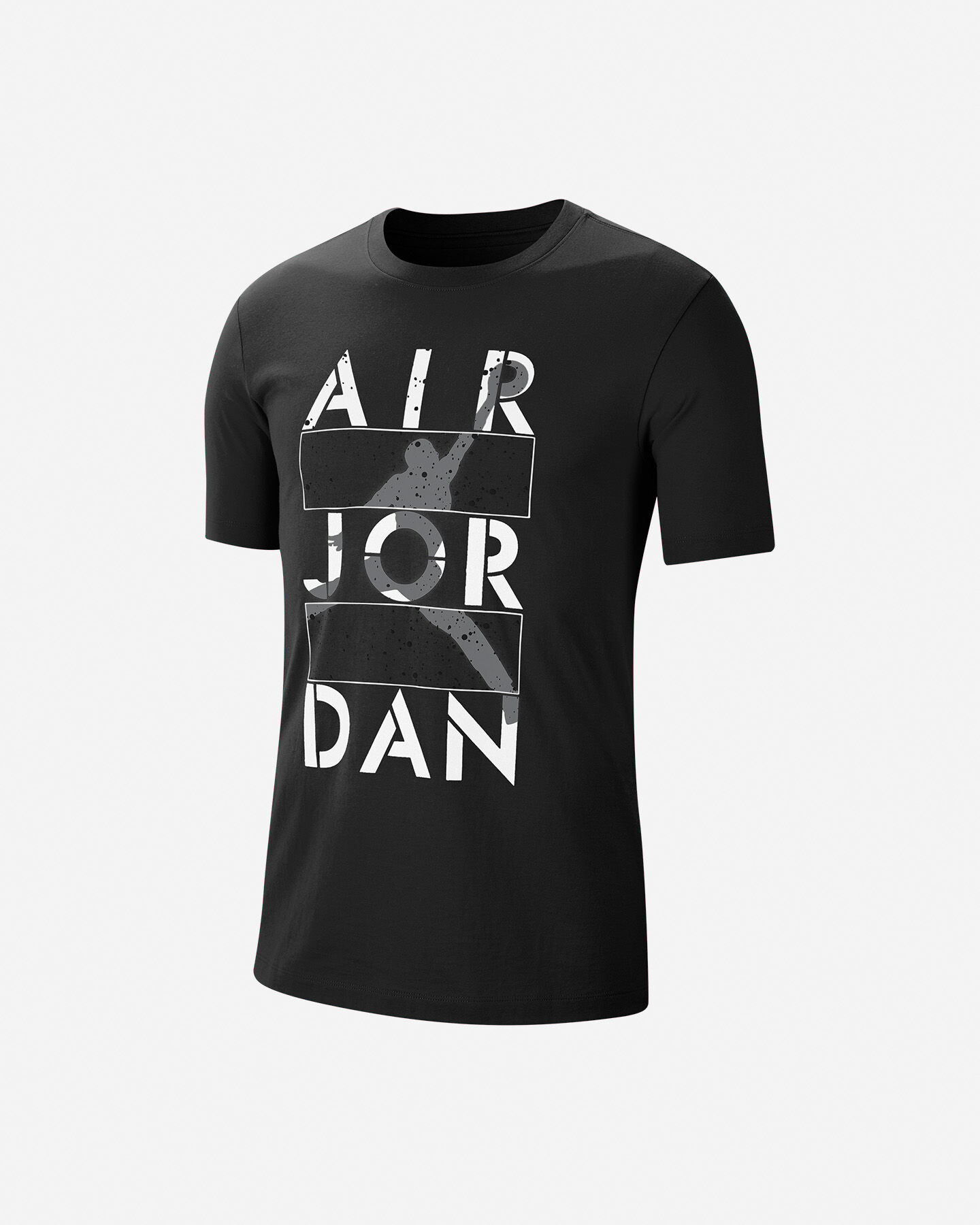 T-Shirt NIKE JORDAN JUMPMAN AIR STENCIL 4 M S5199922 scatto 0