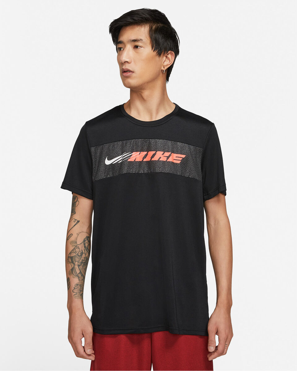 T-Shirt training NIKE DRY SUPERSET ENERGY M S5269658 scatto 0