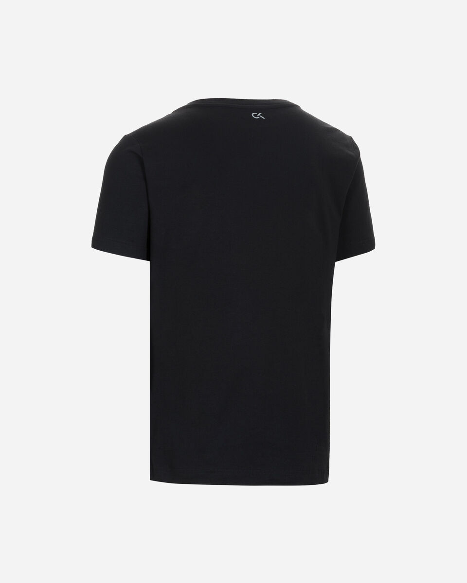 T-Shirt CALVIN KLEIN ESSENTIAL LOGO ALL OVER M S4079667 scatto 1