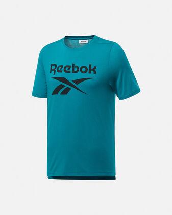 T-Shirt training REEBOK WORKOUT READY SUPREMIUM GRAPHIC M
