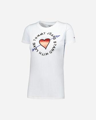 T-Shirt TOMMY HILFIGER ST HEART W