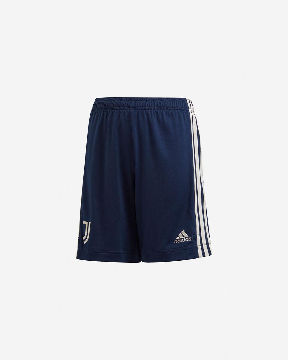 Pantaloncini calcio ADIDAS JUVENTUS AWAY 20-21 JR S5217280 scatto 0