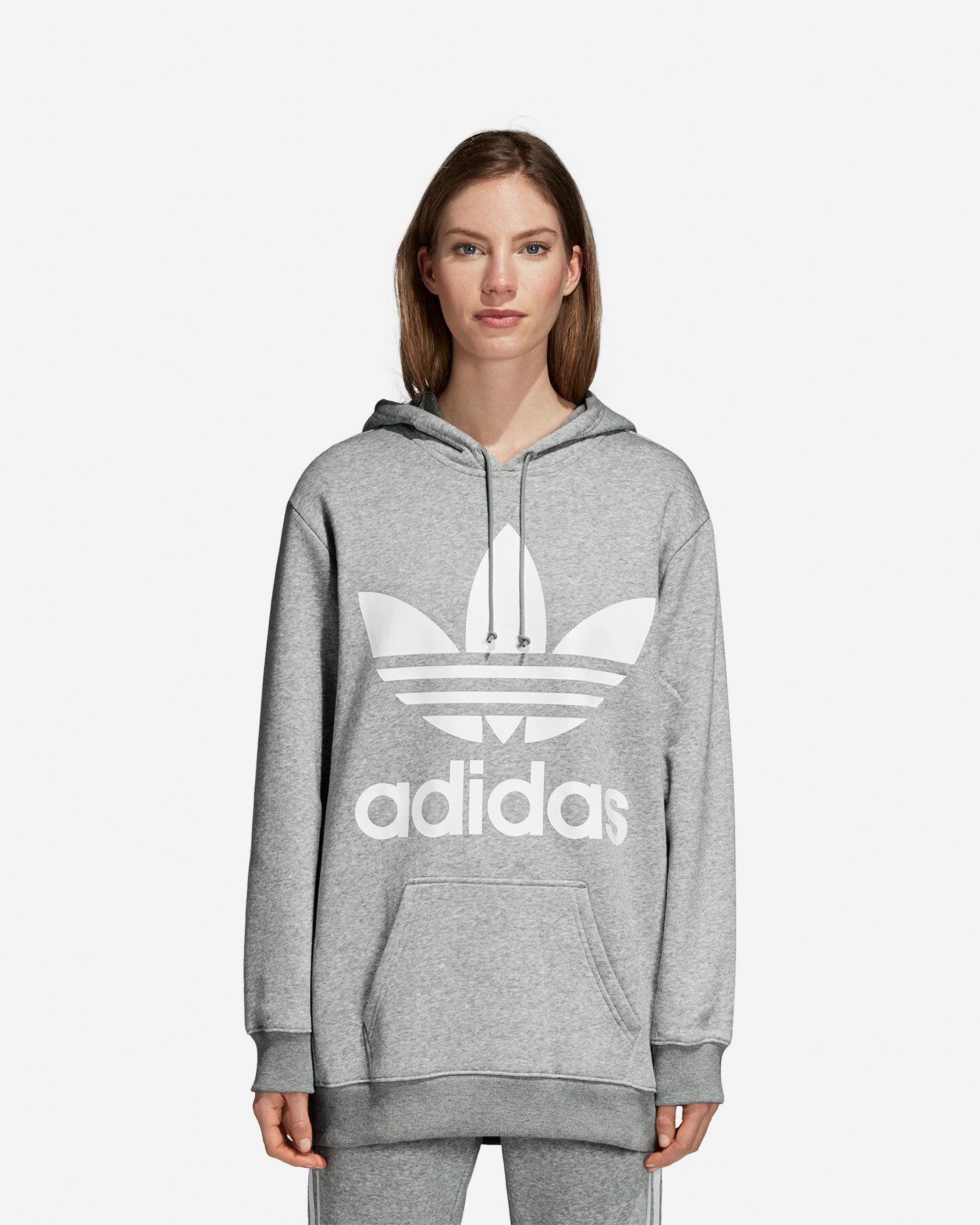 felpa adidas oversize donna