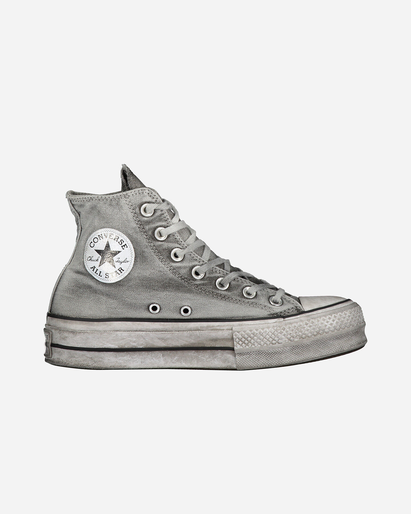 Scarpe sneakers CONVERSE CHUCK TAYLOR ALL STAR SMOKED HIGH W S4075386 scatto 0