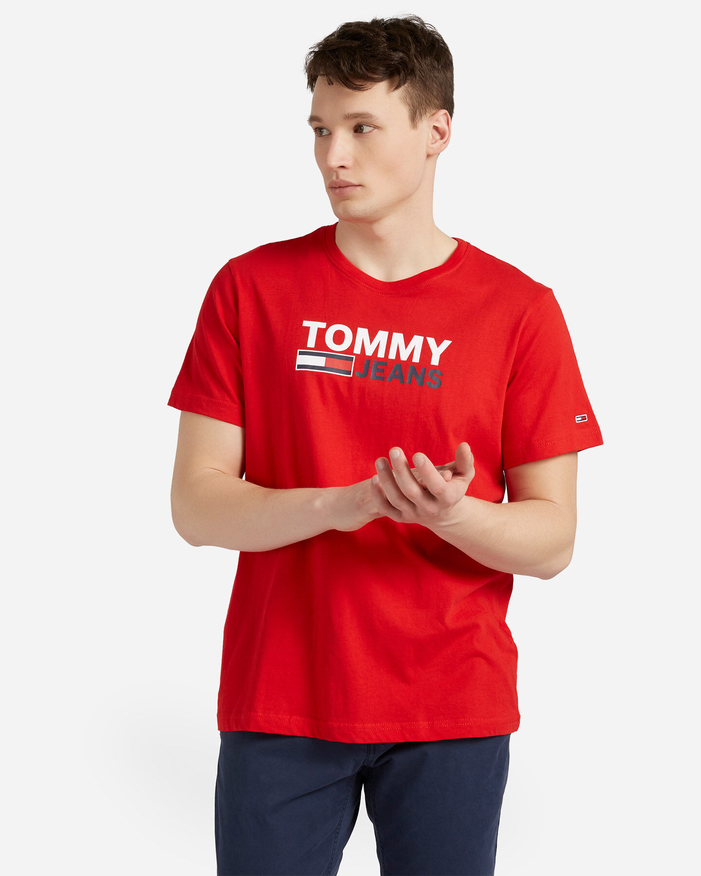 T-Shirt TOMMY HILFIGER CORP LOGO M S4088732 scatto 0