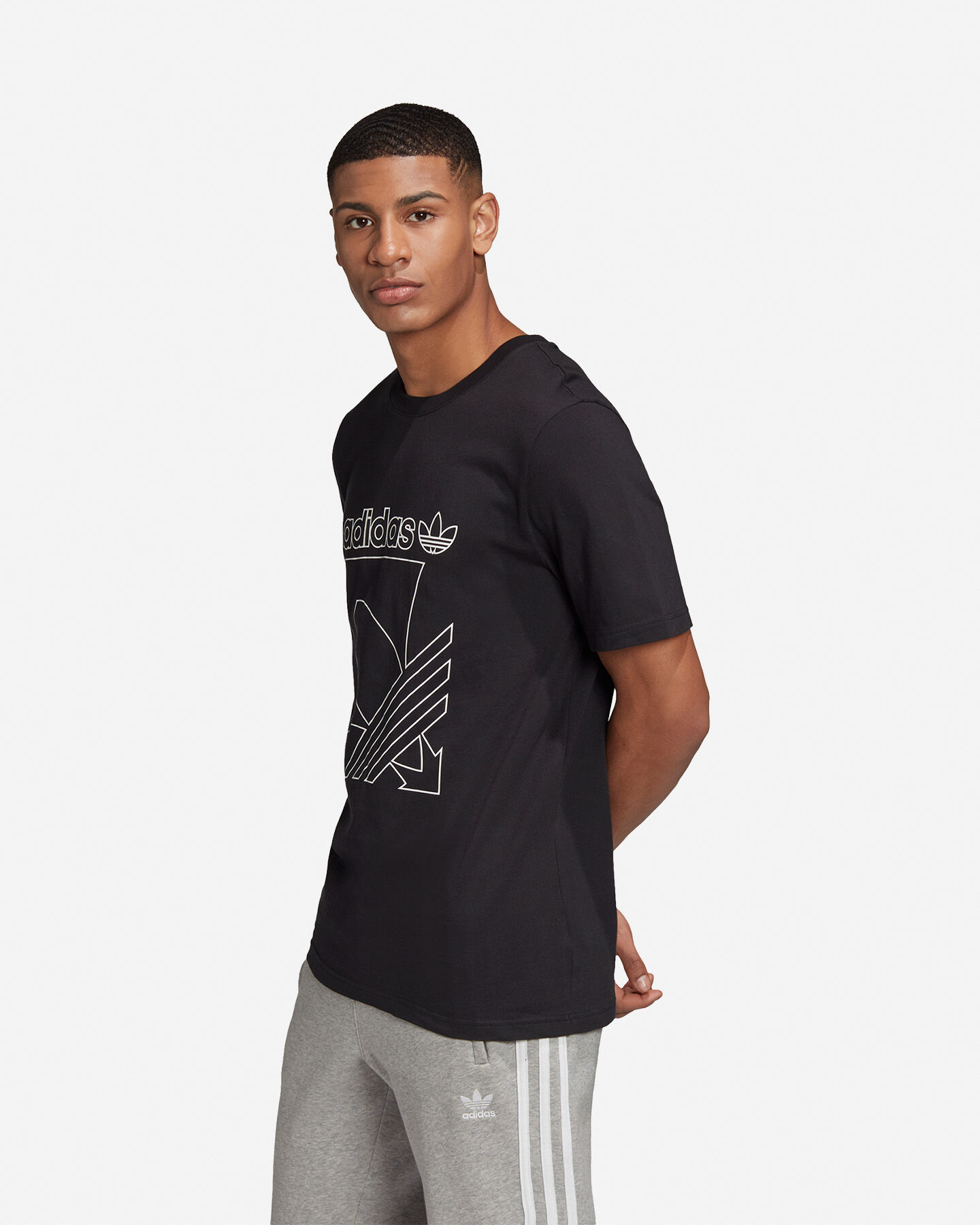 T-Shirt ADIDAS OUTLINE M S5210670 scatto 3