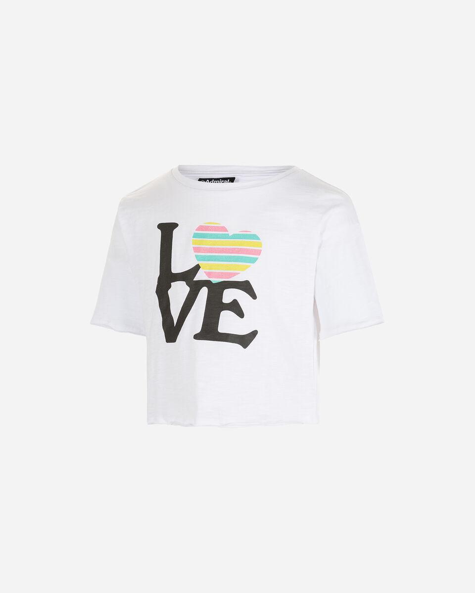 T-Shirt ADMIRAL CROP JR S4087689 scatto 0