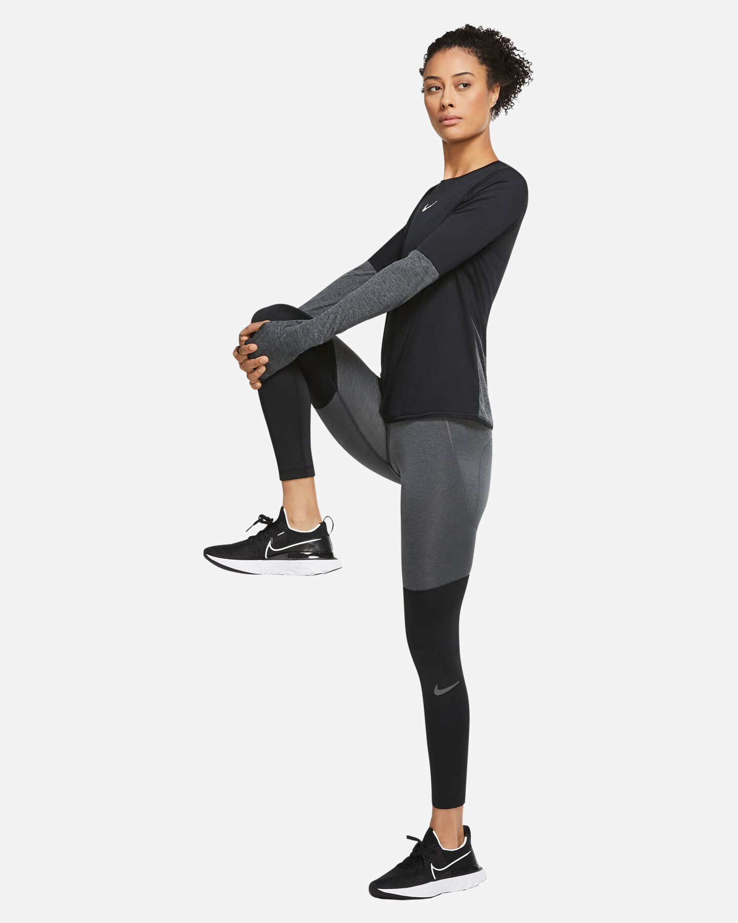Fuseaux running NIKE FAST WARM RUNWAY W S5249066 scatto 2